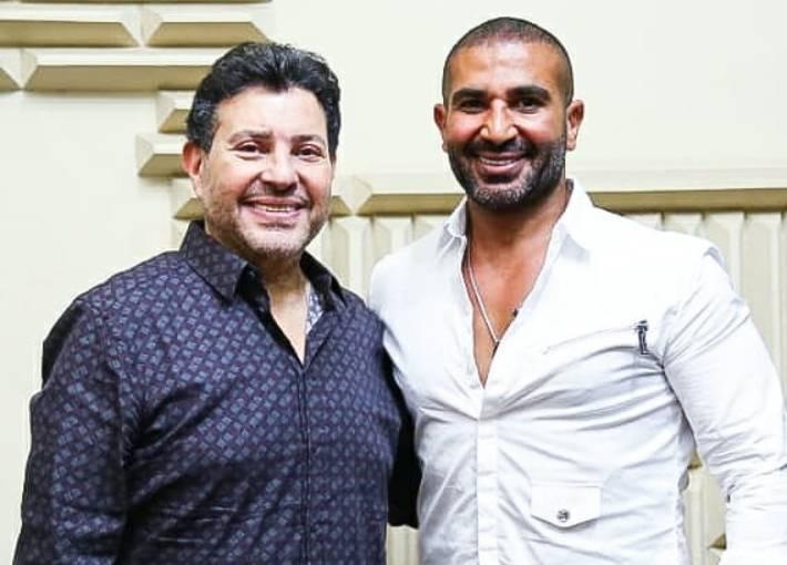 هاني شاكر و أحمد سعد يستعدان لإطلاق '' يا بخته''