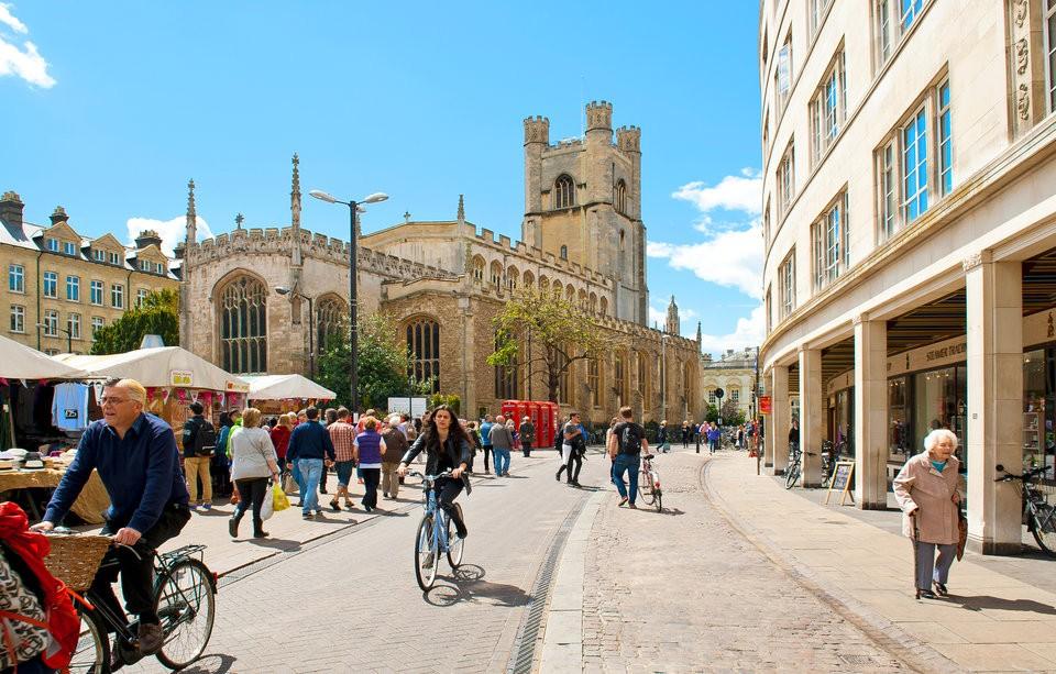 جامعة كامبريج في بريطانيا