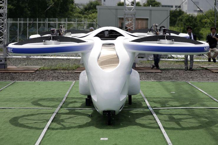 السيارة الطائرة في اليابان