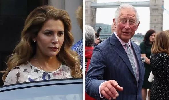 الأمير تشارلز والأميرة هيا بنت الحسين ما هو الرابط فيما بينهم
