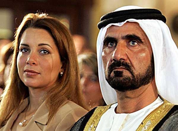 هروب الأميرة هيا بنت الحسين من زوجها حاكم دبي