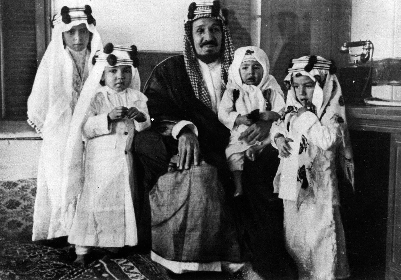 العائلة الملكية في السعودية