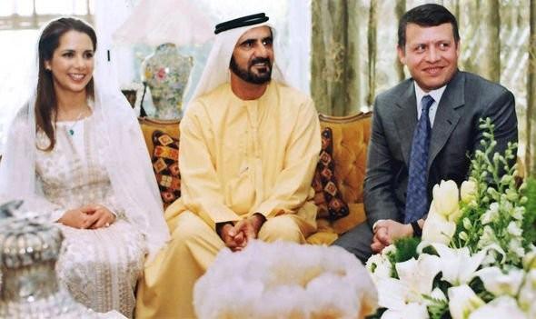 زواج الأميرة الأردنية هيا بنت الحسين من حاكم دبي محمد بن راشد