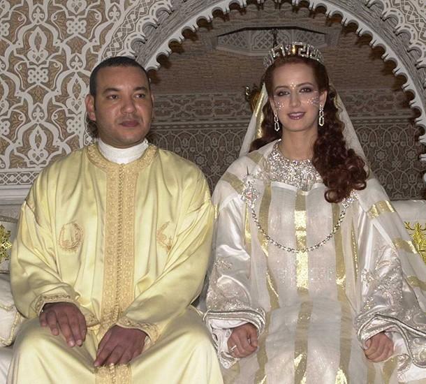 الاميرة للا سلمى برفقة زوجها محمد السادس