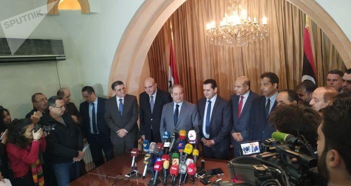 السفارة الليبية في دمشق