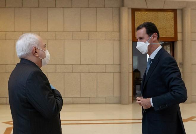 الرئيس الأسد وزير الخارجية الإيراني