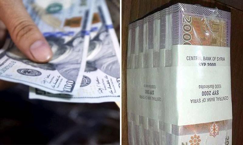 طالع سعر الدولار في سوريا مقابل الليرة السورية في السوق السوداء اليوم الجمعة 11-7-2020 سعر صرف الدولار في سوريا